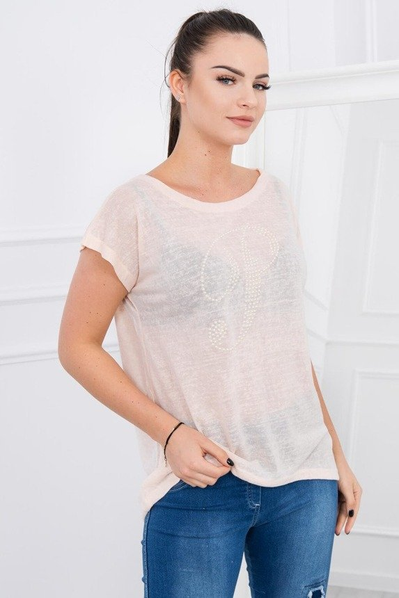 A blouse P, light peachy