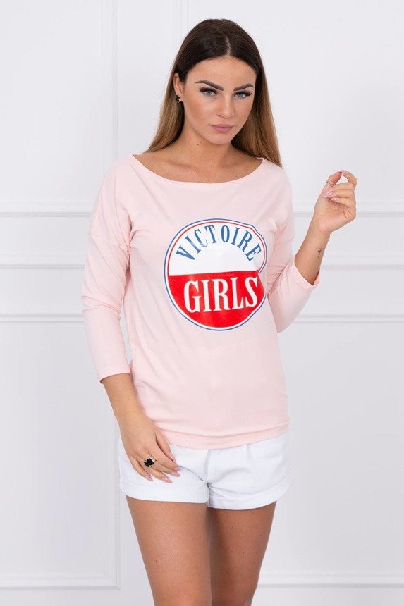 Blouse Victoire Girls powdered pink