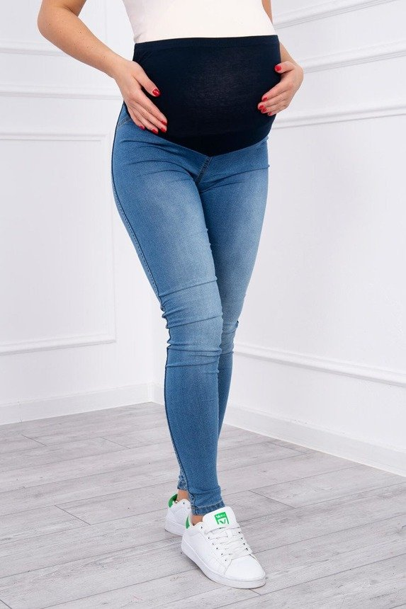 Maternity light jeans
