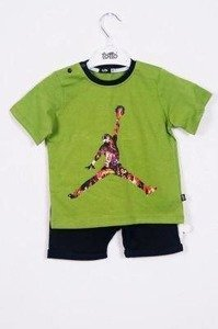 A set with the basketball player green (3 pcs.)