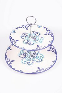 Double serving plate Ornament