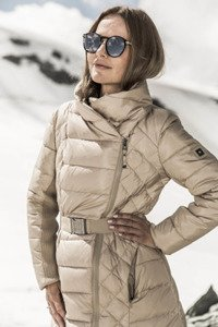 Down jacket 257 light beige