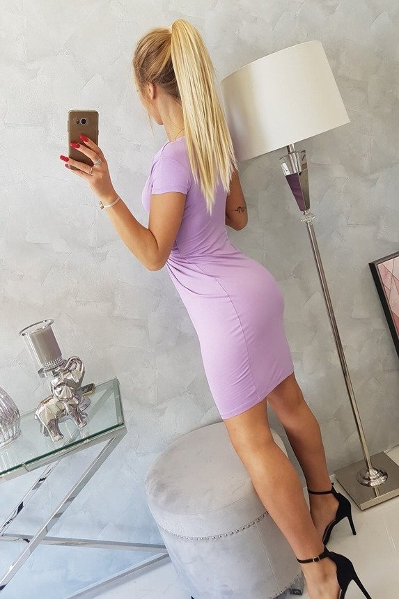 8310 Dress purple