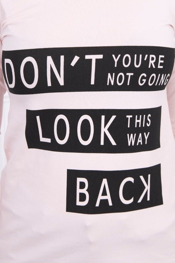 A blouse - Don't Look Back, powdered pink