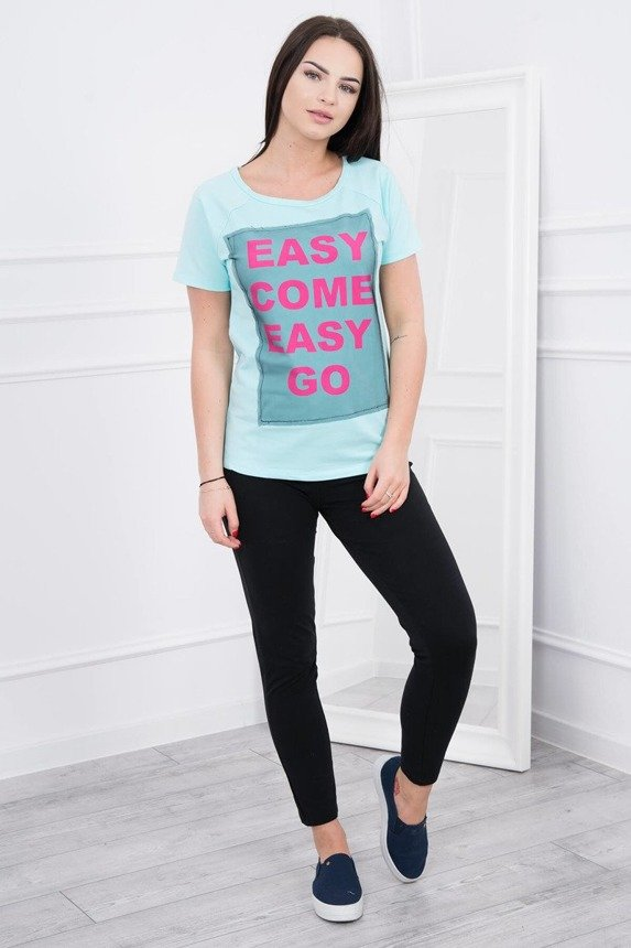 A blouse Easy go, mint