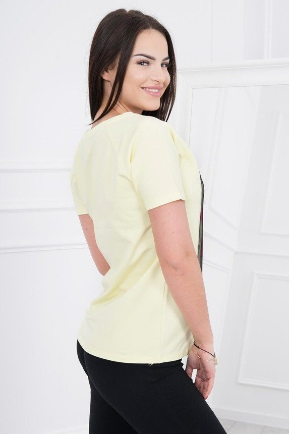 A blouse Easy go, yellow