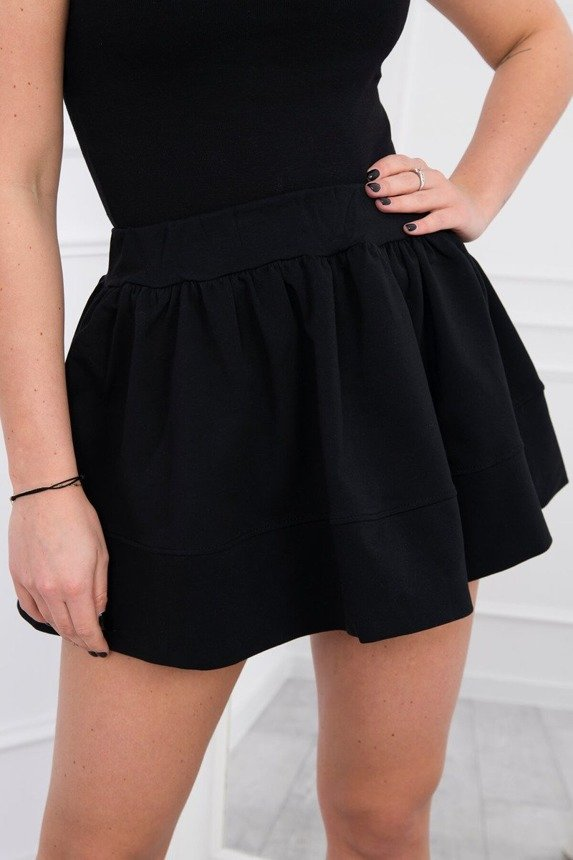 A lambada skirt, black