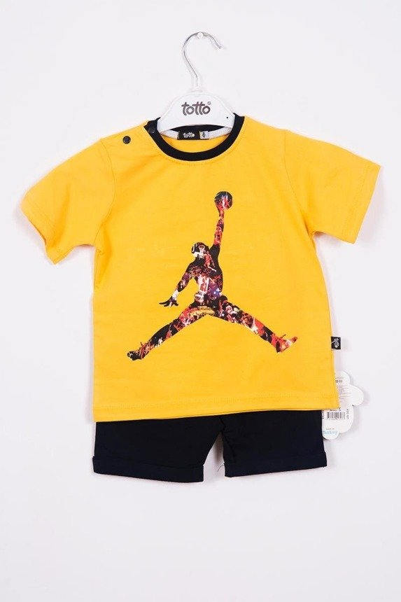 A set with the basketball player mustard (3 pcs.)