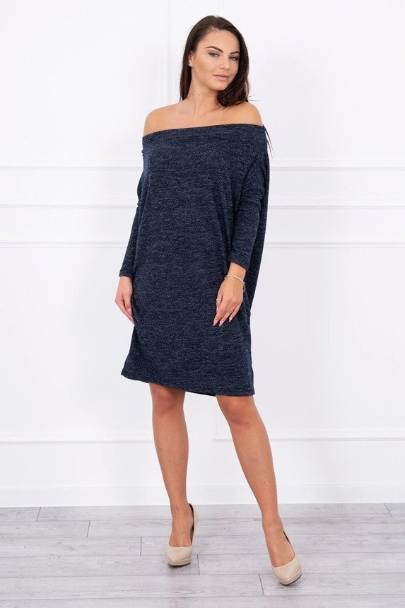 A tunic with pockets navy blue