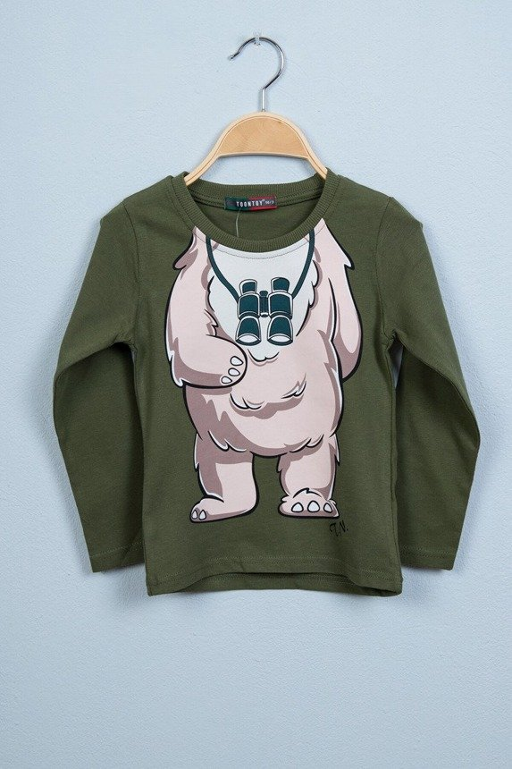 Blouse Bear khaki (4 pcs.)