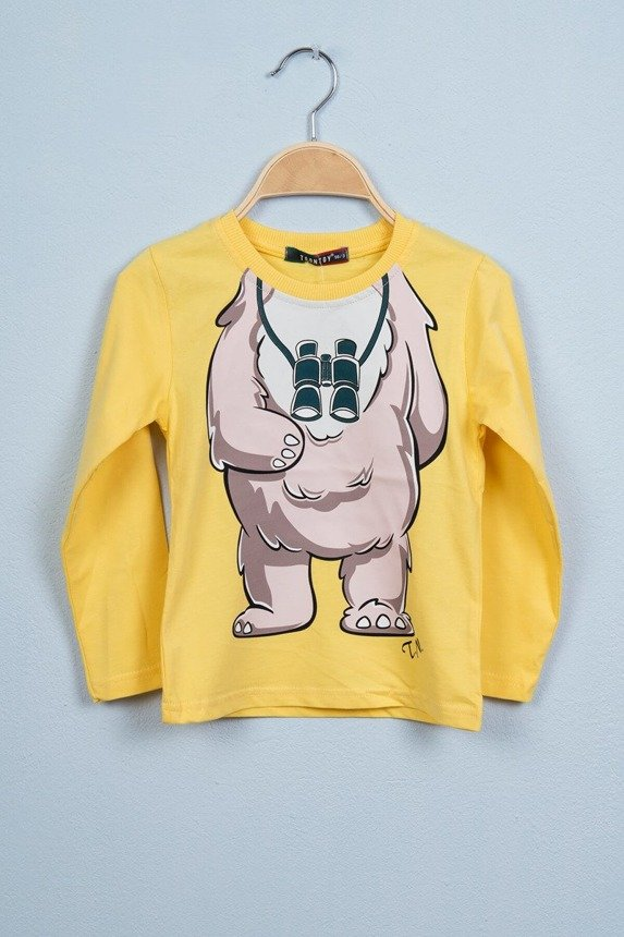 Blouse Bear yellow (4 pcs.)