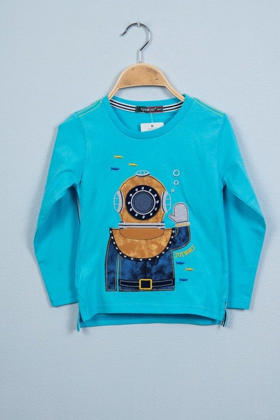 Blouse Diver blue (4 pcs.)