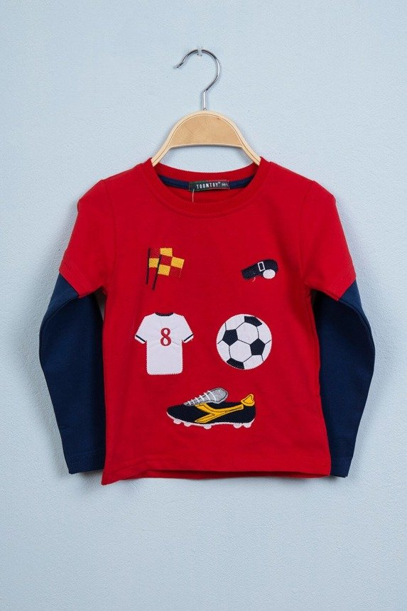 Blouse Football red (4 pcs.)