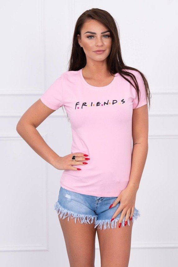 Blouse Friends powdered pink