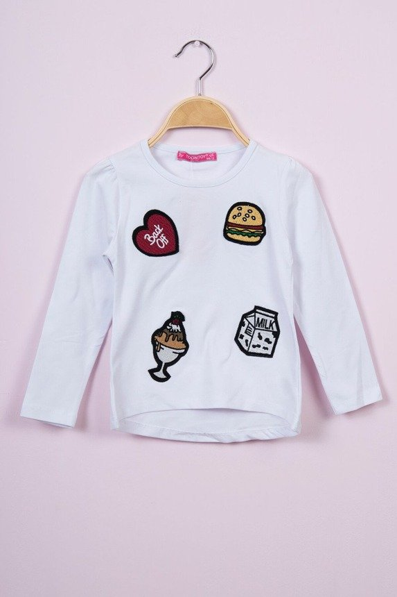 Blouse Hamburger white (4 pcs.)
