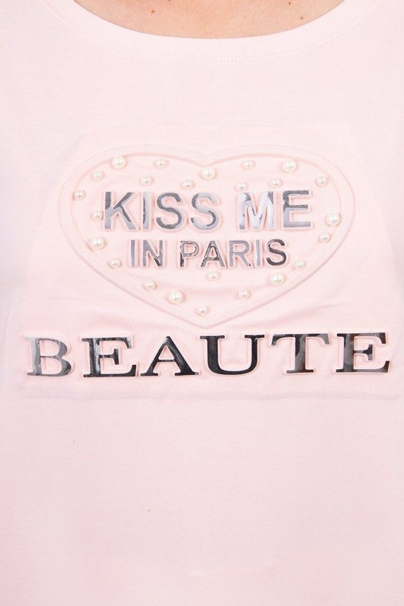 Blouse Kiss Me powdered pink