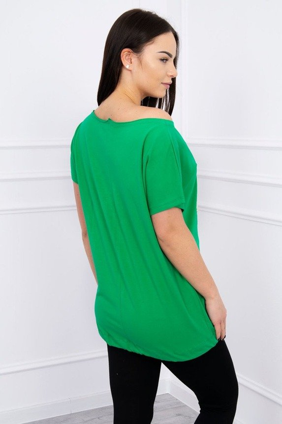 Blouse Paris London New York green