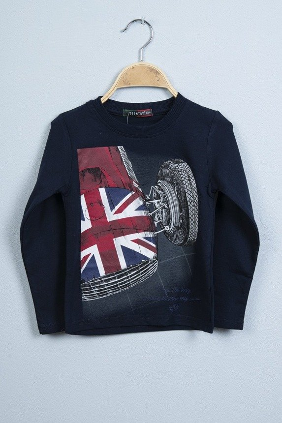 Blouse Sports car navy blue (4 pcs.)