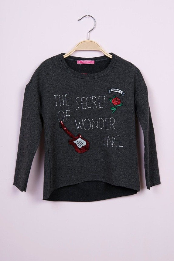 Blouse The secret of wonder graphite (4 pcs.)