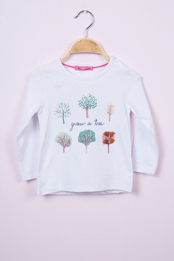 Blouse Trees white (4 pcs.)