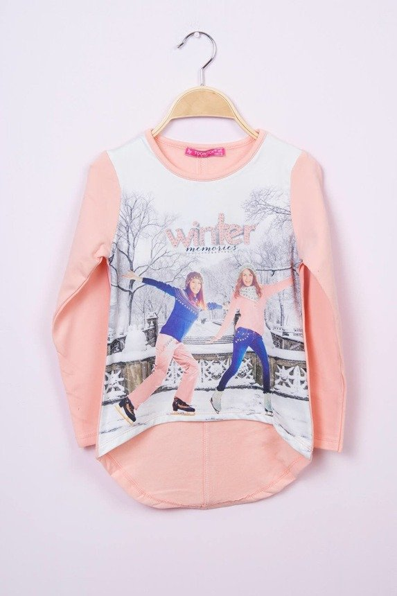 Blouse  Winter memories apricot (4 pcs.)