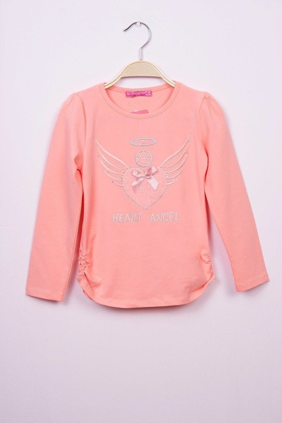 Blouse heart and wings apricot (3 pcs.)