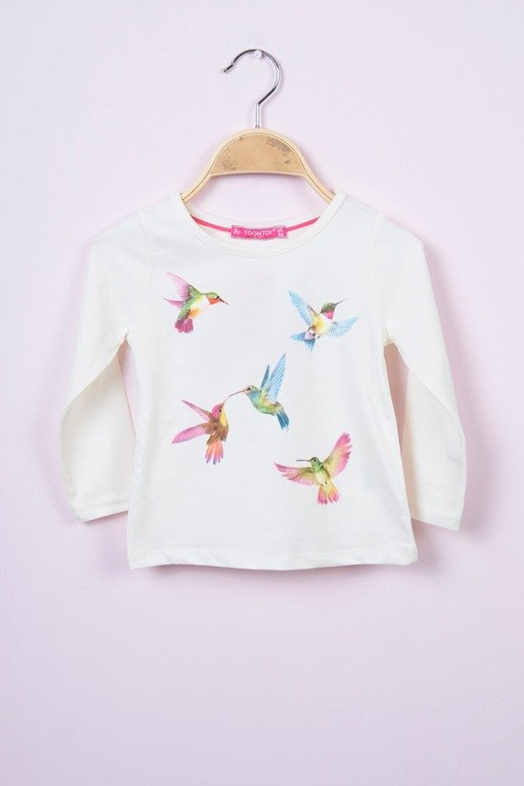 Blouse humming-bird ecru (4 pcs.)