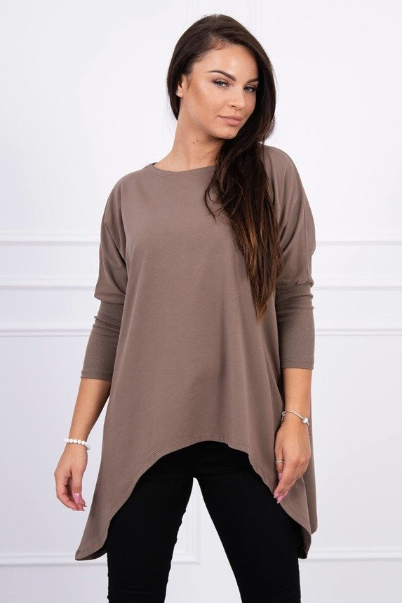 Blouse oversize cappuccino