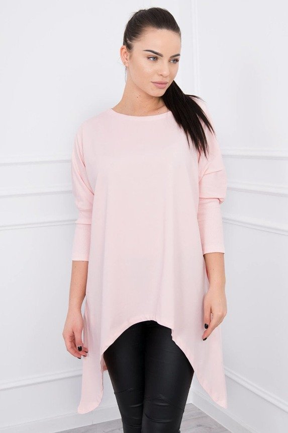 Blouse oversize powdered pink
