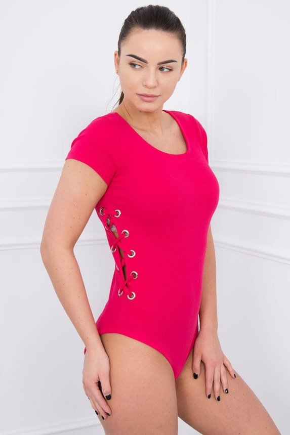 Body blouse tied on the sides fuchsia