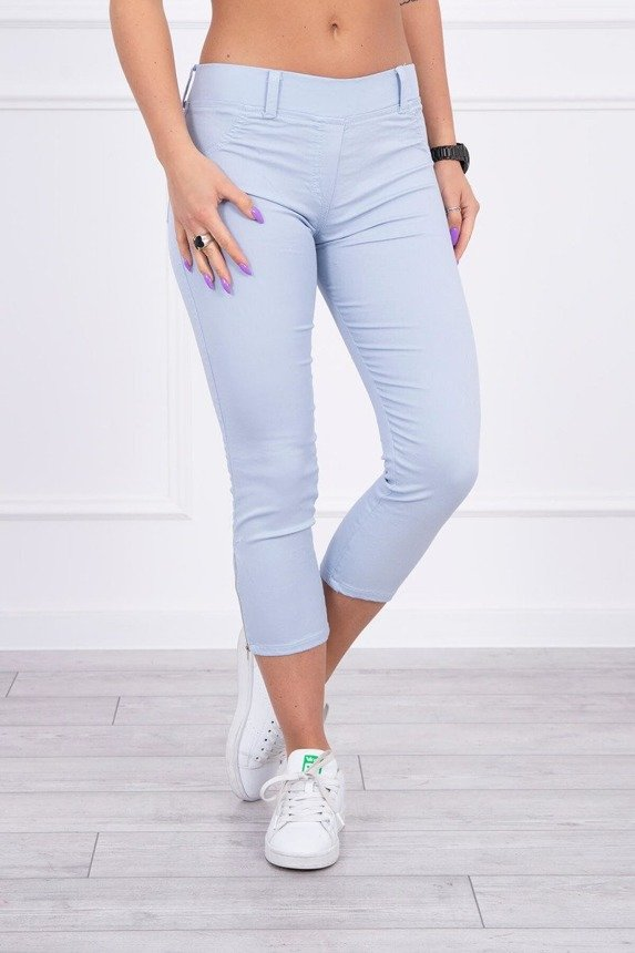 Colorful jeans 7/8 blue ice