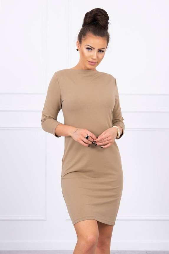 Dress Classical camel