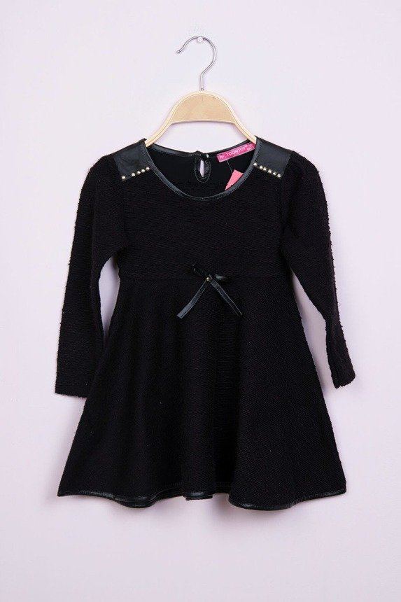 Dress with a flared bottom black (4 pcs.)