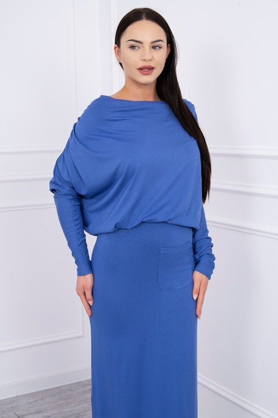 Dress with water in the neckline jeans