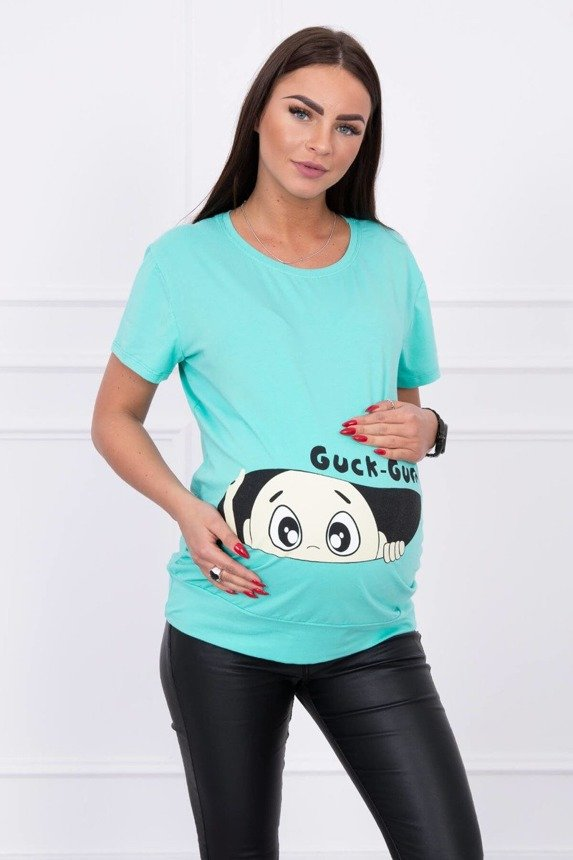Maternity blouse Guck mint