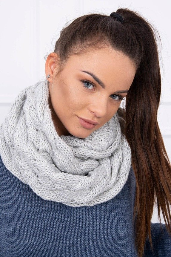 Scarf 112 gray
