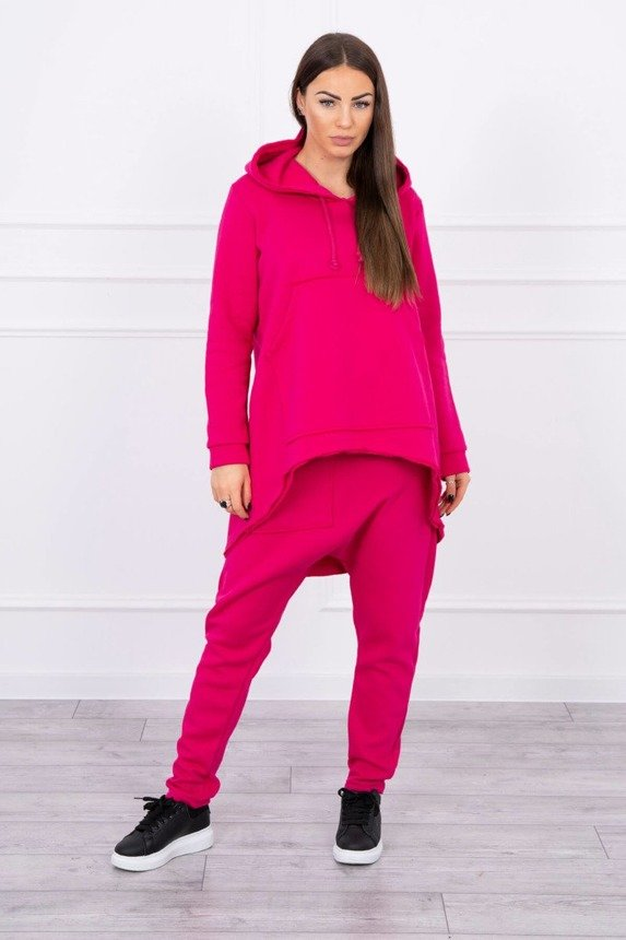 Set with pants Baggy fuchsia