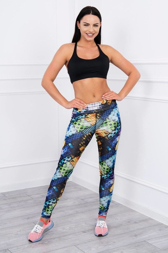 Sport leggings yoga blue