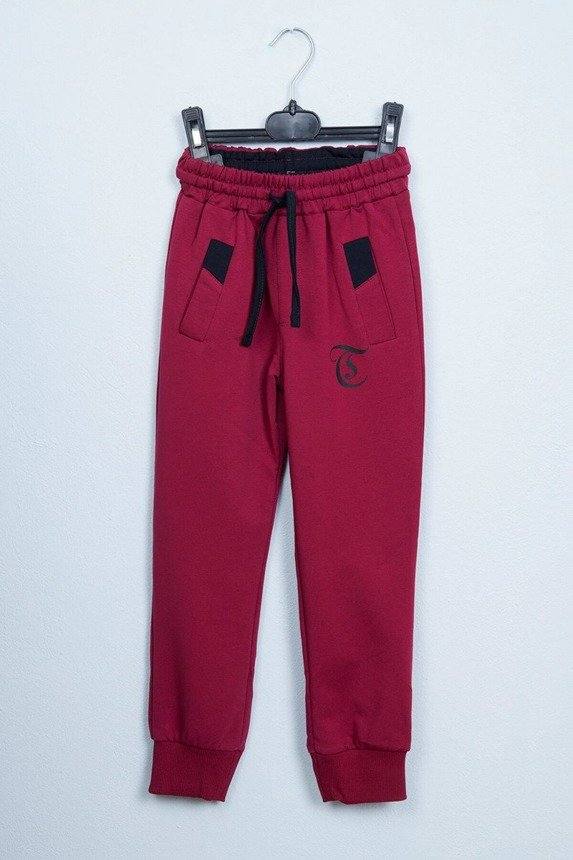 Sports pants burgundy (4 pcs.)