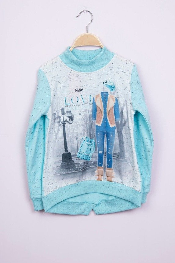 Sweatshirt Lonelines blue (4 pcs.)