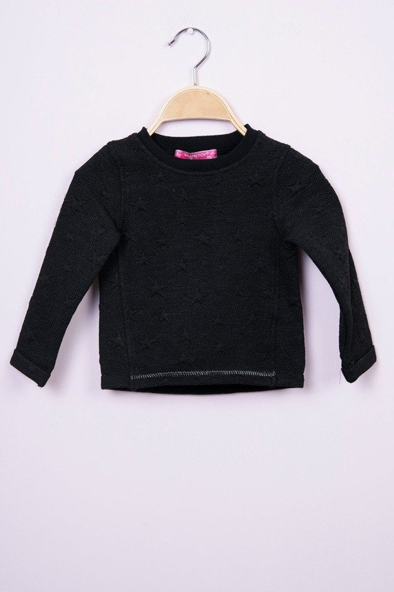 Sweatshirt with stars black (4 pcs.)