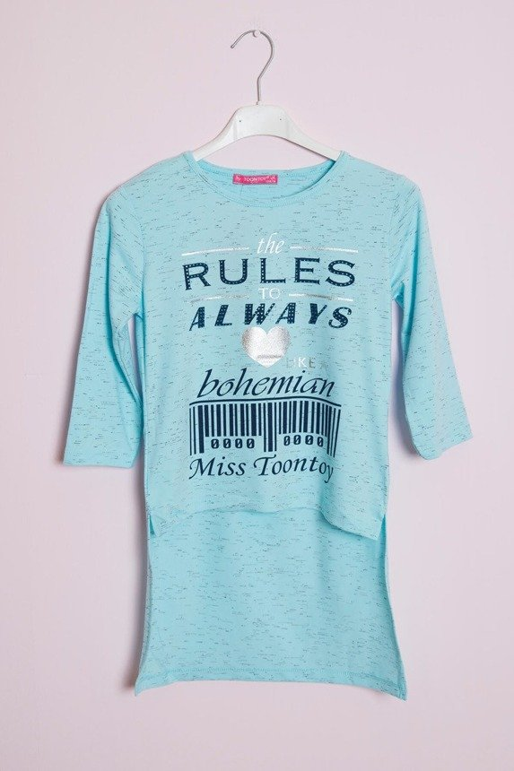 Tunic The rules to always azure (4 pcs.)