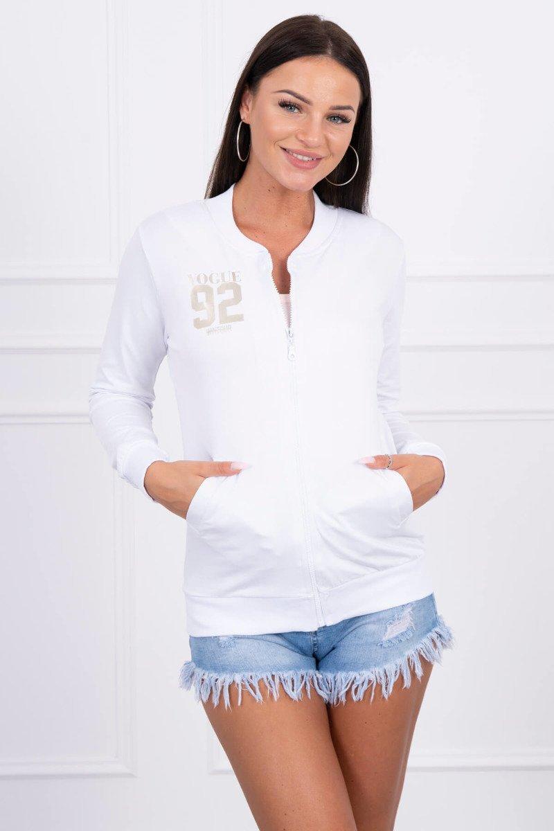 biała bluza hurt