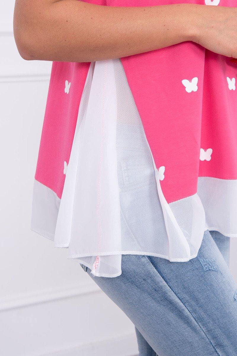 Блузка с бабочками доставка