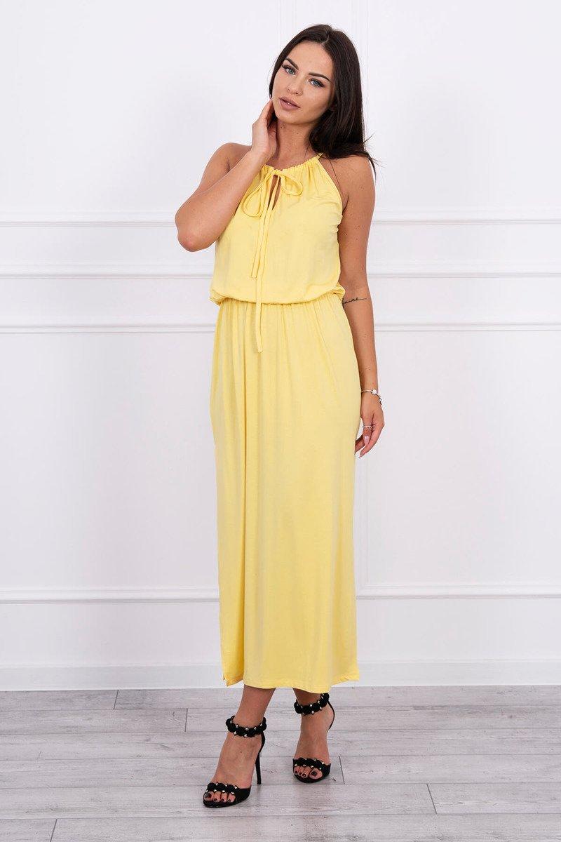 ... Boho šaty s múkou žltý ... a9bb9b169b4
